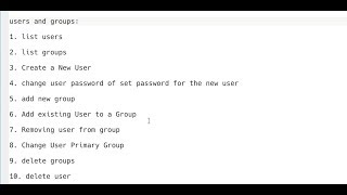 Users and Groups in Linux : Create, List, Add, Edit, Assign, and Delete