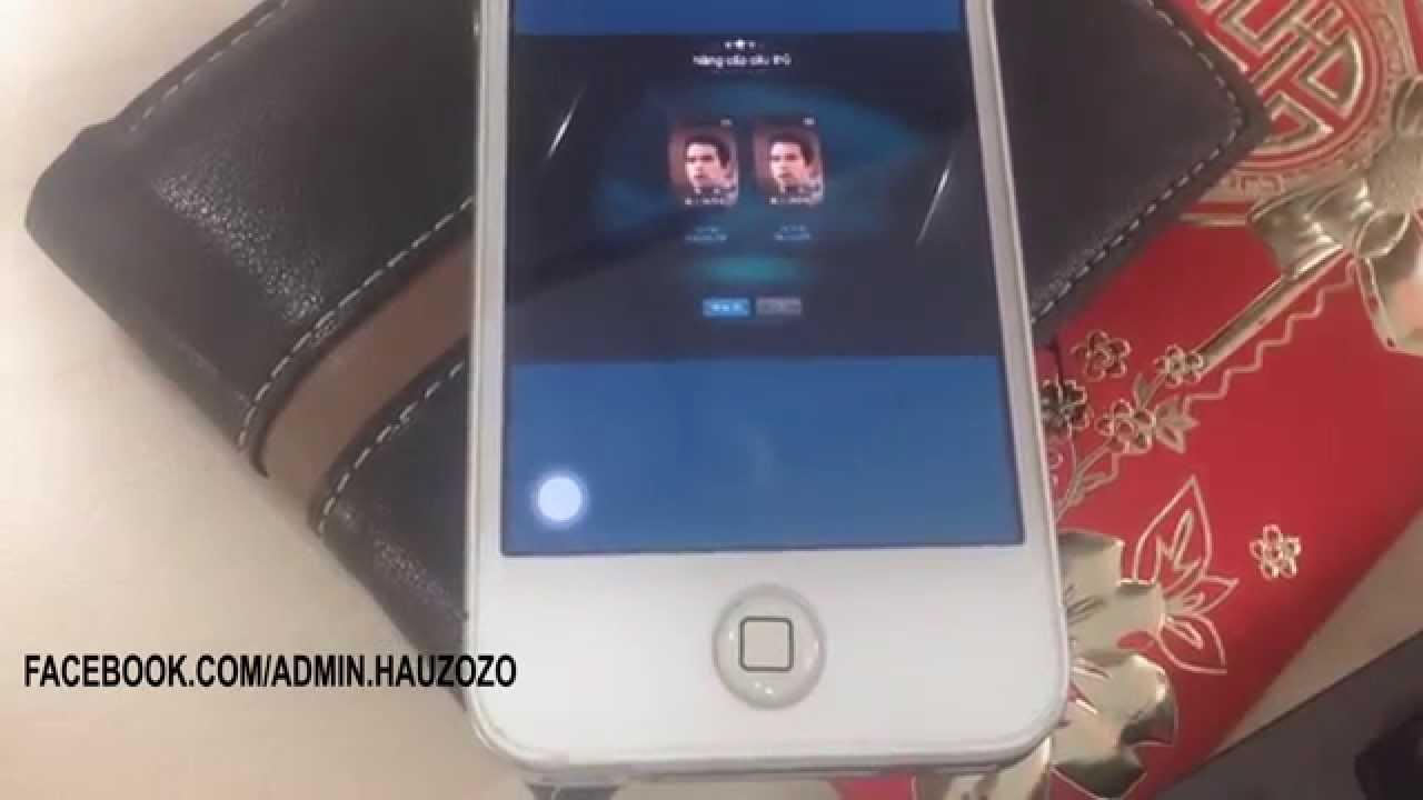 FIFA Online 3: Ép thẻ bằng điện thoại với kết quả đầy bất ngờ