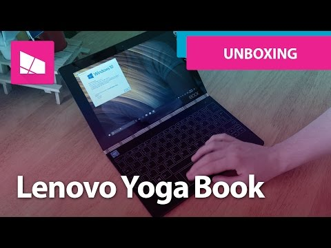 Lenovo Yoga Book unboxing and hands on