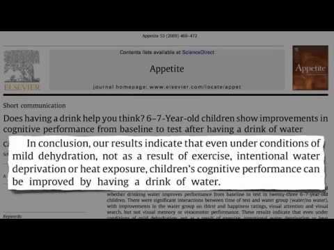 Может ли обычная вода сделать вашего ребенка умнее?