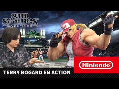 Super Smash Bros. Ultimate : Présentation vidéo de Terry Bogard pour sa sortie