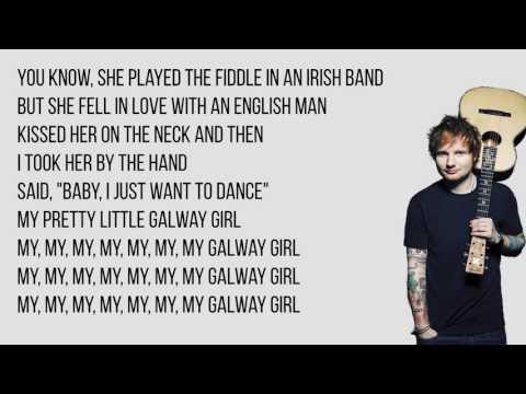 Ed Sheeran - Galway Girl Lyrics