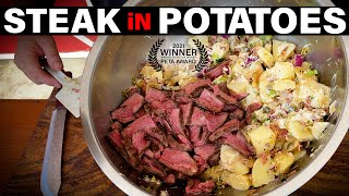 MEAT LOVERS POTATO SALAD | Recipe | BBQ Pit Boys by BBQ Pit Boys