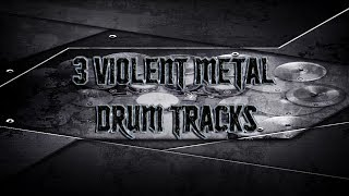 3 Violent Metal Drum Tracks | Preset 2.0 (HQ,HD)