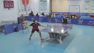 December 2018 Open Final Kaden Xu Vs Zhi Wen He