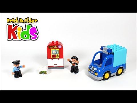 Vidéo LEGO Duplo 10809 : La patrouille de police
