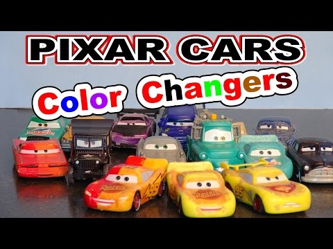 Pixar Cars More Color Changers With 3 Lightning McQueen's , Mater, Boost Ramone And More