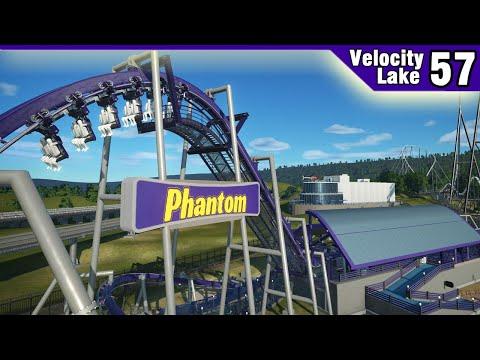 Velocity Lake (ep. 57) -  Station Construction!   Planet Coaster