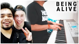 HARDWELL - BEING ALIVE (Piano)