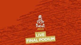 LIVE - Final podium / Podio de llegada / Podium d
