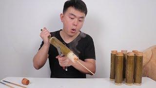 """看西游记自制云南""""竹筒饭"""",做完之后却说再也不想吃竹筒饭了"""