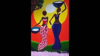 #Internationalwomensday #womenshistorymonth Black Women Artwork, Black Art, Caribbean Art,