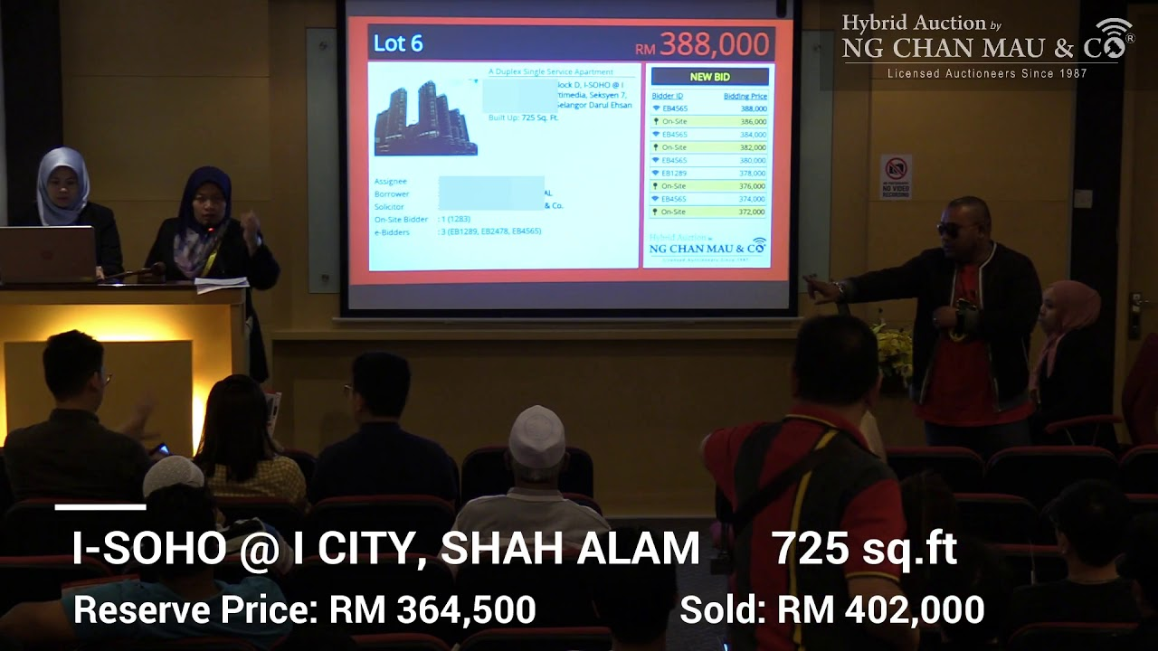 Bidders Fight for their Dream Property at Below Market Value