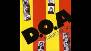 "D.O.A.  ""World War 3""  With Lyrics in the Description  Hardcore 81"