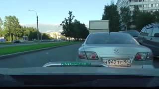 04/09/2014 - Парковка задним ходом, сложности движения на дорогах