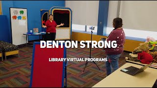 Denton Strong - Library Virtual Programs