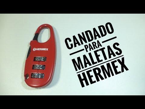 Candado para Maletas HERMEX