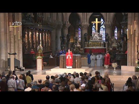 Messe de la Pentecôte du 4 juin 2017