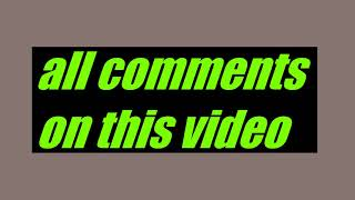 all comments are links to Mr. Beasts YouTube channel
