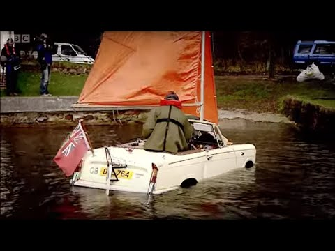 Amphibious Car Challenge | Top Gear