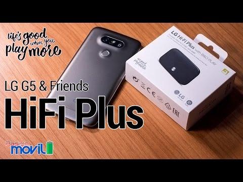 LG G5 Friends HiFi Plus B&O - Unboxing en Español