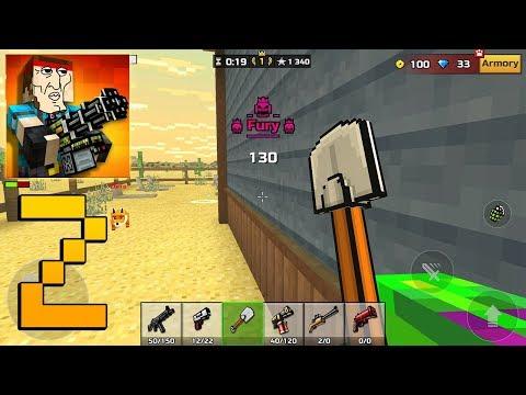 Pixel Gun 3D - Gameplay Walkthrough Part 2 - Fury
