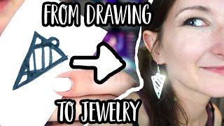 How To Make SILVER JEWELRY With A Cricut Explore Air Or Cricut Maker | Clay Cutting Technique