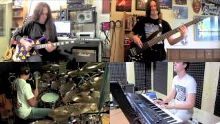 Guitar videos - DANIELE LIVERANI - Mysterious Impulse (split screen)