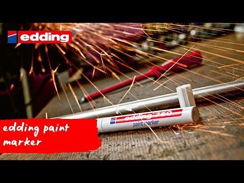 Permanent Marker Edding 751 1-2 mm Rund Grøn