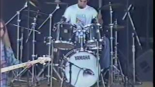 "The 77s perform ""Outskirts"" at Ichthus, 1997"
