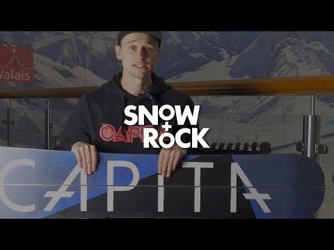 Capita Neo Slasher 2018 Snowboard Review by Snow+Rock