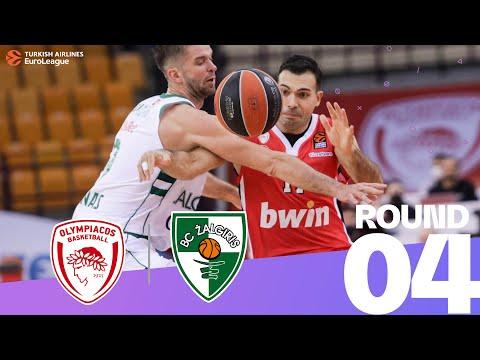 RS Round 4 Highlights: Olympiacos 83-68 Zalgiris