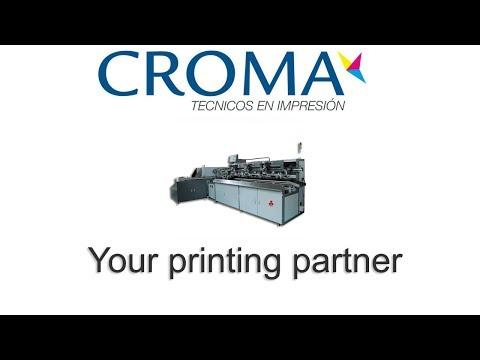 Maquina de serigrafia automática A-2401SM cilindrica 3 colores UV