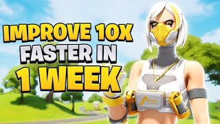 How To IMPROVE 10x FASTER On Keyboard & Mouse in 1 WEEK!   Fortnite Battle Royale   Beginner tips