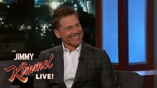 Rob Lowe Does Impression of Paul McCartney