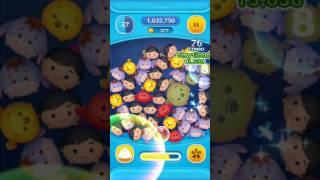 「耳が垂れたツムを使って1プレイで170コンボしよう」を「イーヨー」で攻略する動画@ツムツムの15枚目ミッションビンゴ