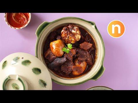 Braised Pork with Soy Sauce | Tau Yu Bak [Nyonya Cooking]