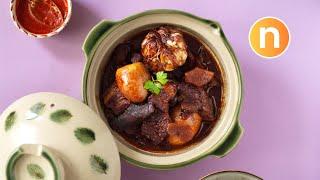 Braised Pork with Soy Sauce   Tau Yu Bak [Nyonya Cooking]
