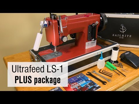 Sailrite Ultrafeed LS40 PLUS 40400V Walking Foot Sewing Machine Impressive Sailrite Ultrafeed Lsz 1 Plus Walking Foot Sewing Machine