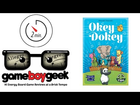 The Game Boy Geek's Allegro (2-min) Review of Okey Dokey