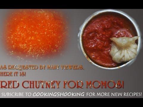Red Chilli Chutney For Momos! | Momo Chutney | Hot n Spicy Chutney