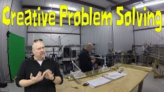 RV Aircraft Video - RV-10 Fuselage - Creative problem solving, shims don't fit!