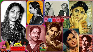 GEETA ROY-(2.Songs)Film-BANSURIA-{1949} - YouTube