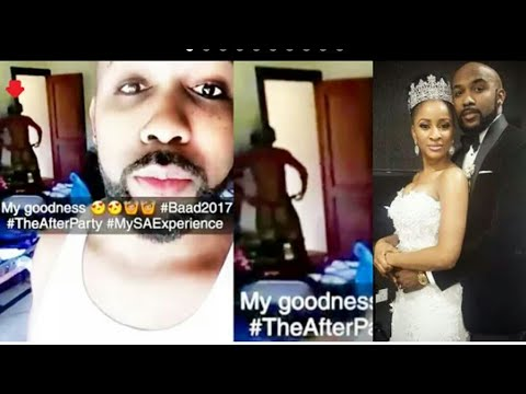 OMG!! Banky W and Adesua Sex tape leaked.