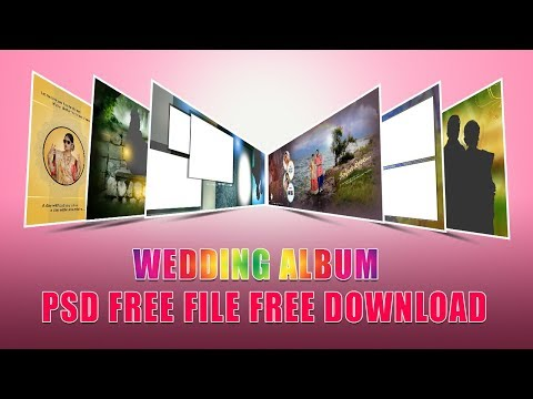 Wedding Album Psd Files Free Download | Srinu Photo Editing | VOL - 50