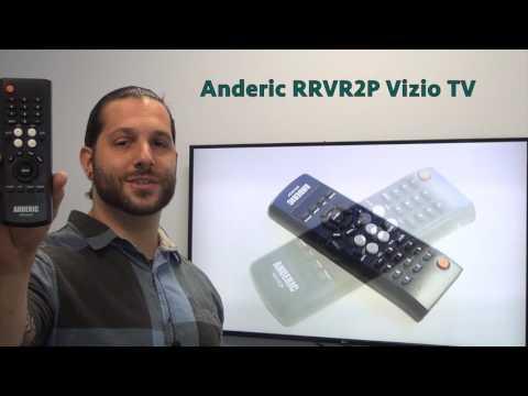 ANDERIC RRVR2P Vizio TV Remote Control