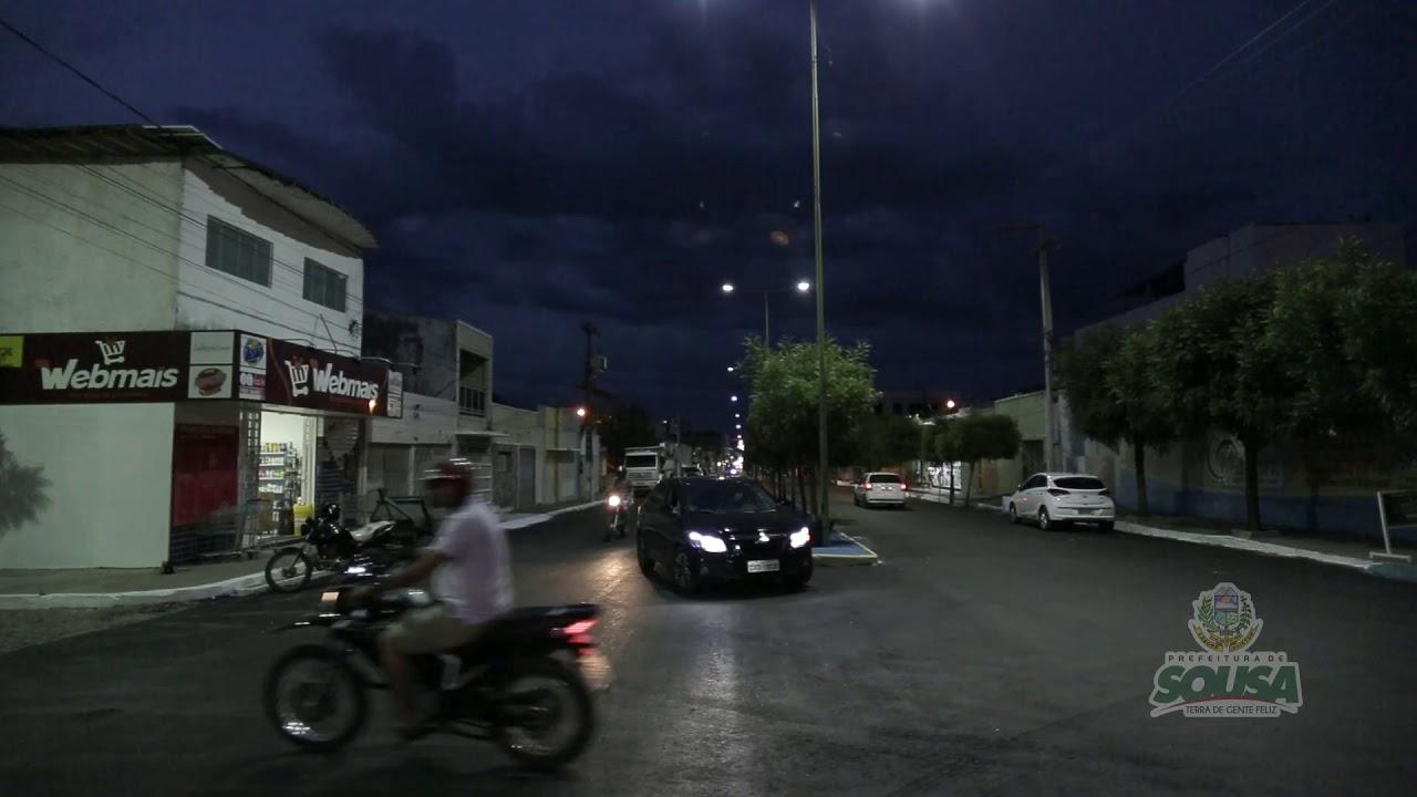 Projeto mais asfalto da Prefeitura Municipal de Sousa