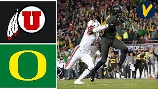 #5 Utah vs #13 Oregon Highlights | 2019 Pac 12 Championship