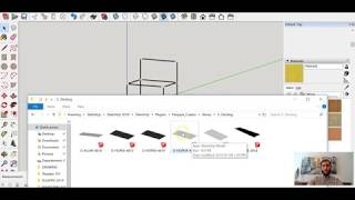 How to install decking surfaces in SketchUp | Flexpipe