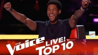 TOP 10 BEST The Voice auditions EVER IN THE HISTORY! 2015